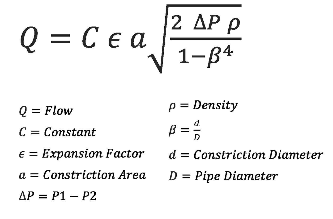 Flow Equation