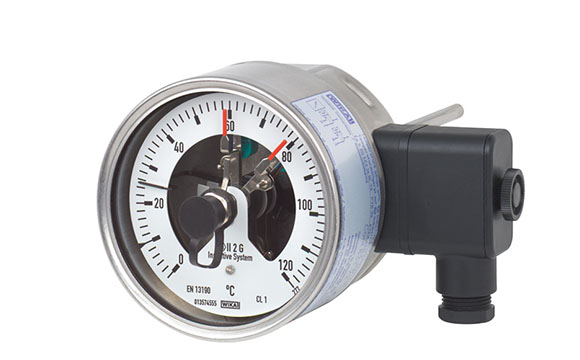 Temperature gauge & switch